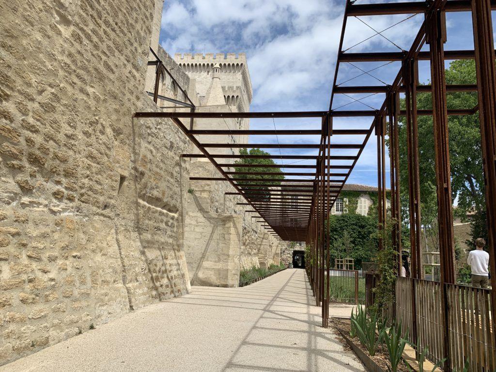 Les Jardins du Palais des Papes in Avignon