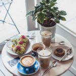 Cafe Tulipe in Avignon, South of France,