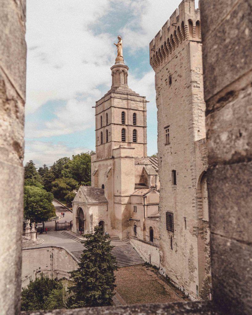 Cathédrale Notre-Dame-des-Doms d'Avignon in Provence, France