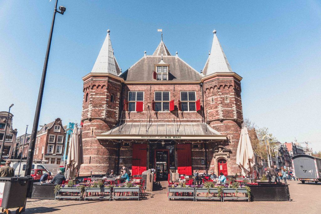 De Waag, the oldest remaining non-religious building in Amsterdam