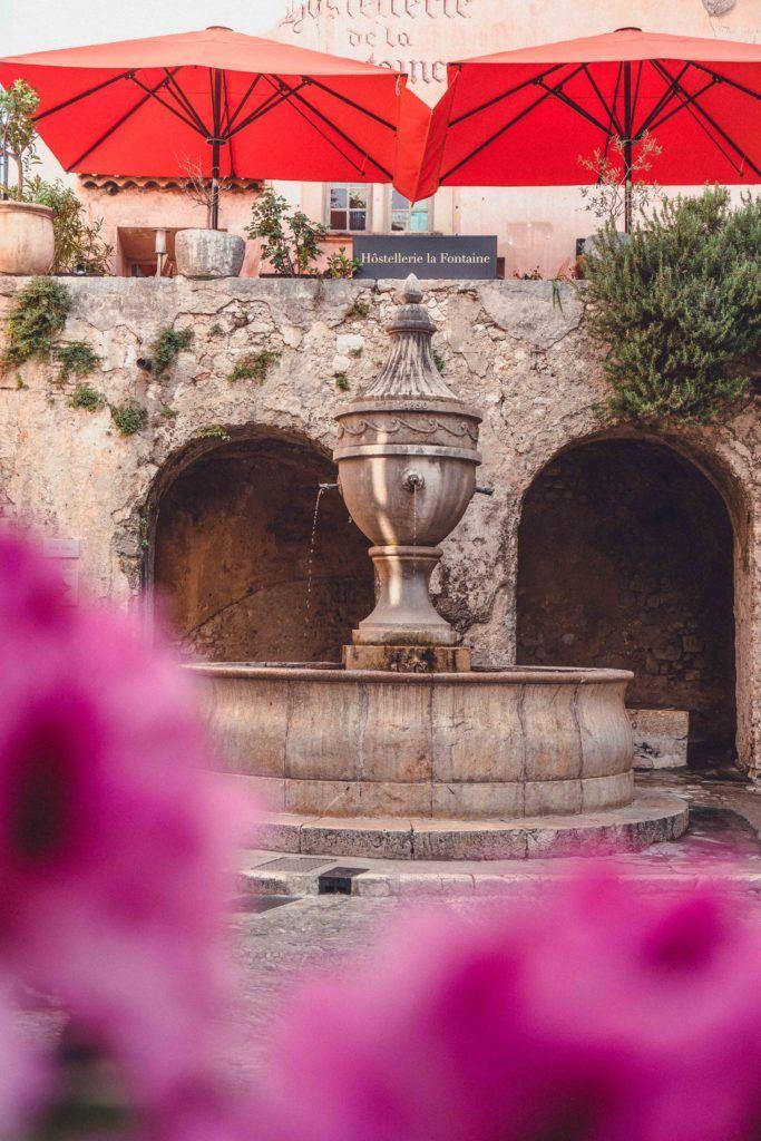 Fontaine de Saint-Paul-de-Vence in France