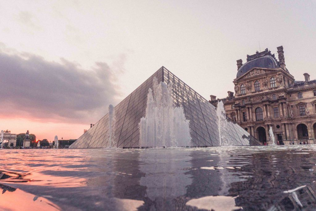 Experience the Louvre by night