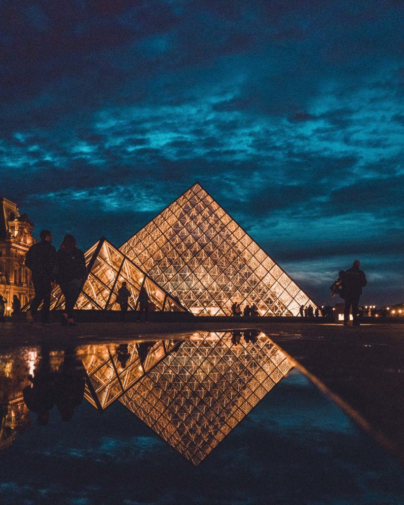 Experience the Louvre by night, 1st arrondissement, Paris, France