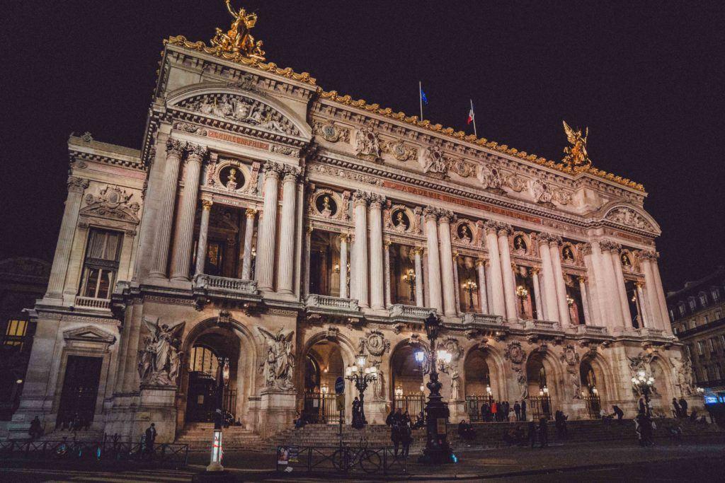 Enjoy an opera performance at the opera palais garnier