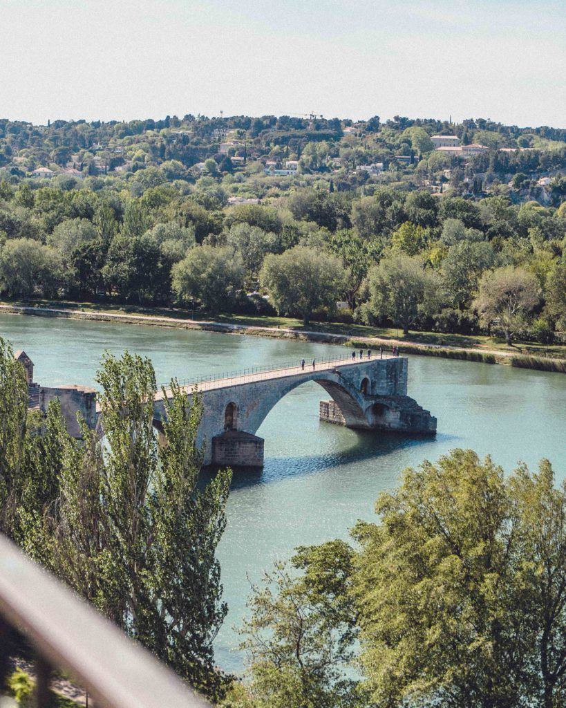 Pont d'Avignon, Avignon, South of France, Provence