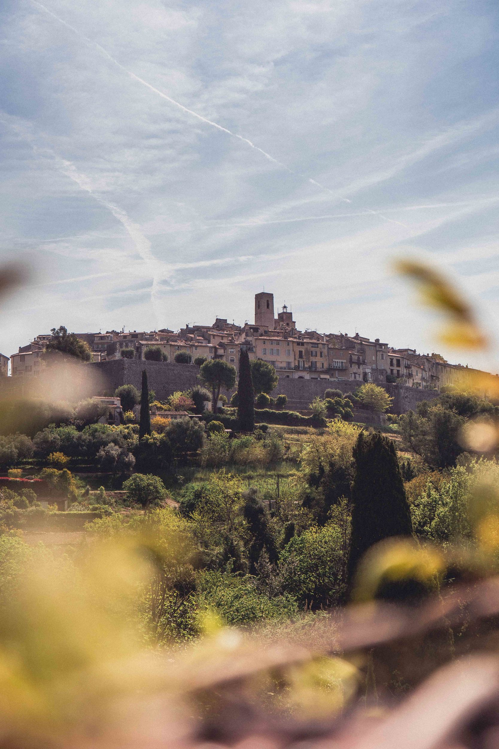 Find the best view of Saint Paul de Vence in the South of France