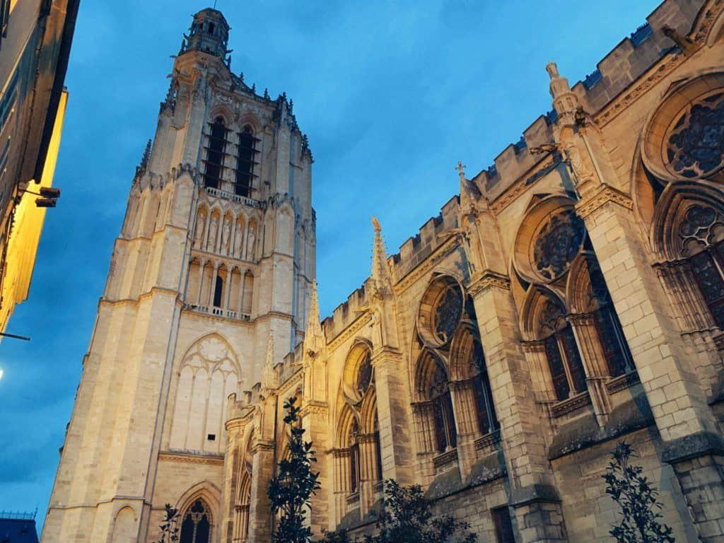 Sens Cathedral, Burgundy, France
