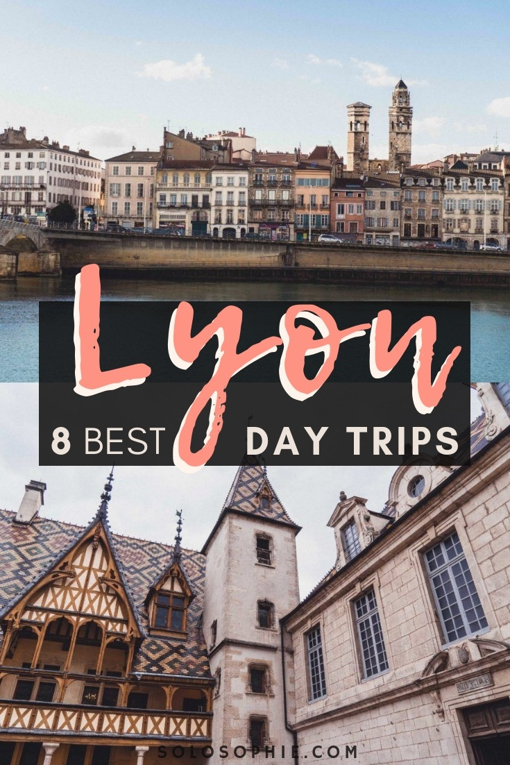 8 Charming & easy to take via train Day Trips from Lyon that are perfect for your visit to South West France (Chalon Sur Saone, Vienne, Beaujolais Region, Perouges)
