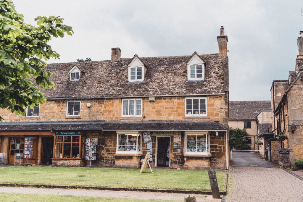 The picturesque village of Broadway, the Cotswolds