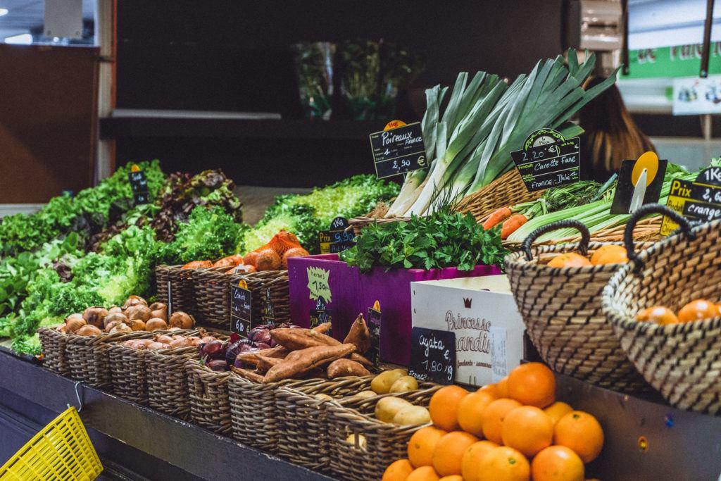 Pick up Lunch Supplies at Les Halles d'Avignon