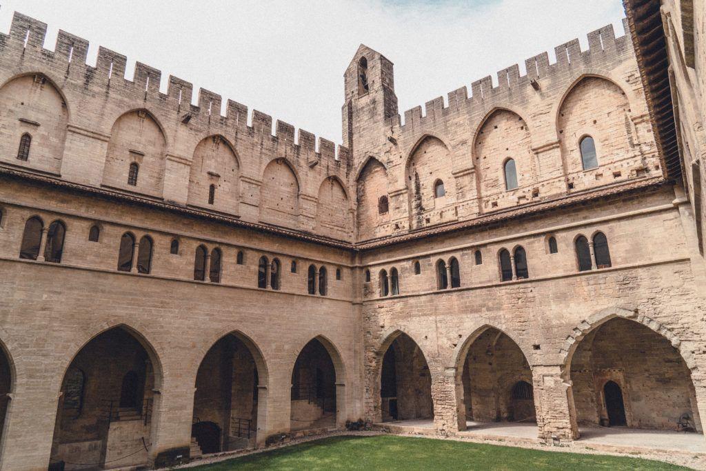 Visit the Palais des Papes in Avignon, Provence, France