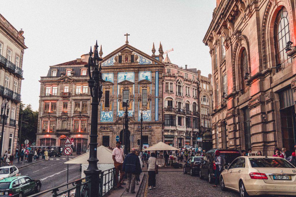 The historic city centre of Porto