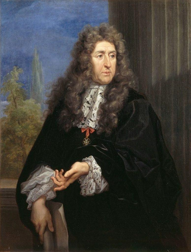 Portrait of André le Nôtre in the 1670s