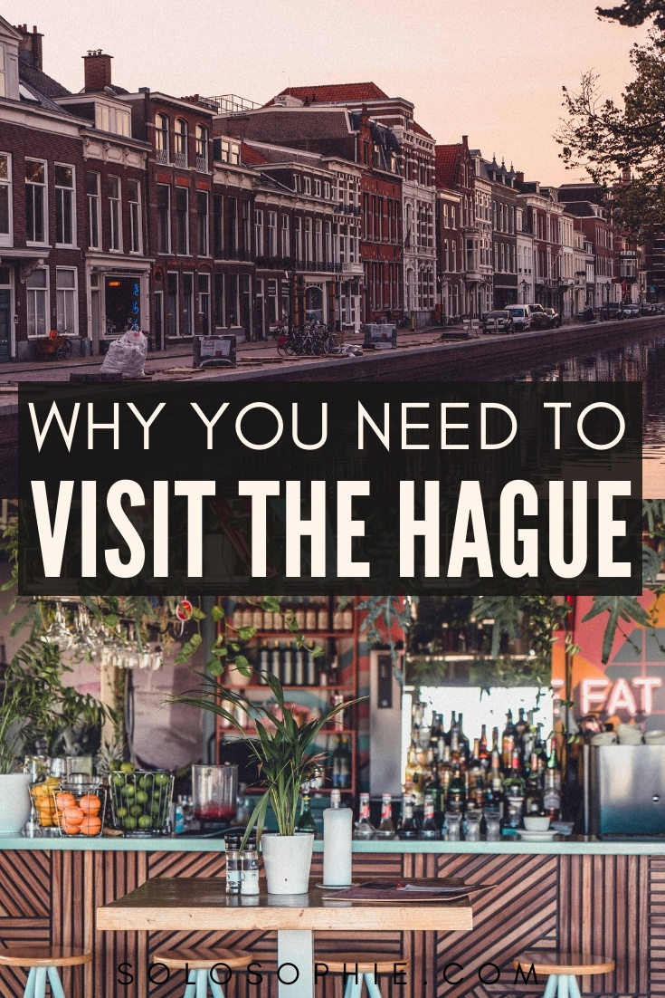 Here's why you need to visit The Hague in Holland, The Netherlands, Europe: reasons to go to the secret city of Den Haag, including history, easy city excursions, and foodie experiences you'll love!