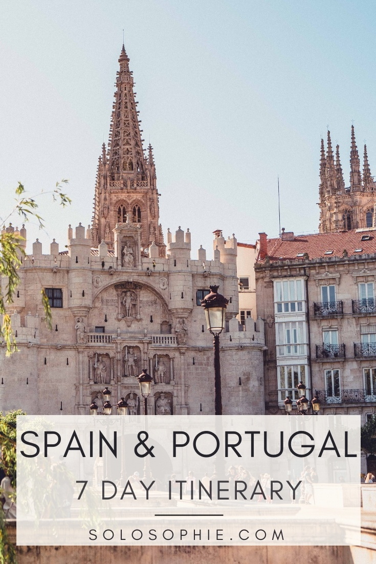 One week in Northern Spain and Portugal Itinerary: A complete guide to seven days in Western Europe! Santo Domingo de Silos, Burgos, Zamora, Lousada, Porto