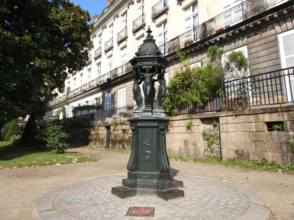 Wallace Fountain in Nantes