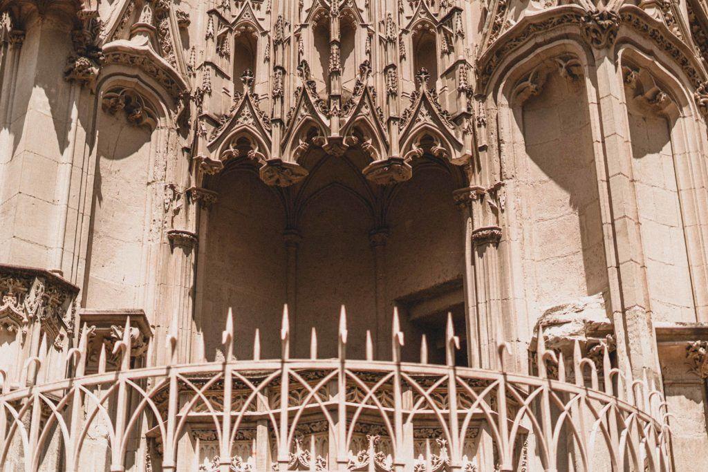 Nantes Cathedral External Chair, Nantes, France