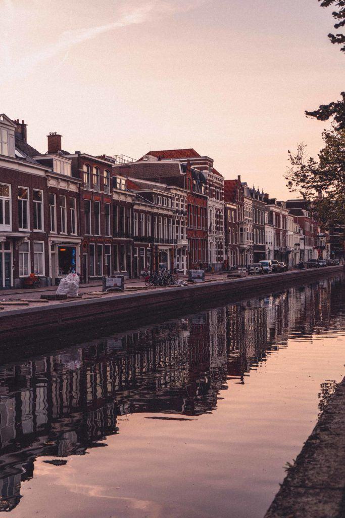 Mondrian was born in The Hague