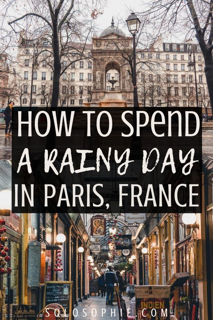 How to spend a rainy day in Paris and still have fun! Looking for the best things to do in Paris in the rain? This is your ultimate guide for indoor attractions in the French capital city of France