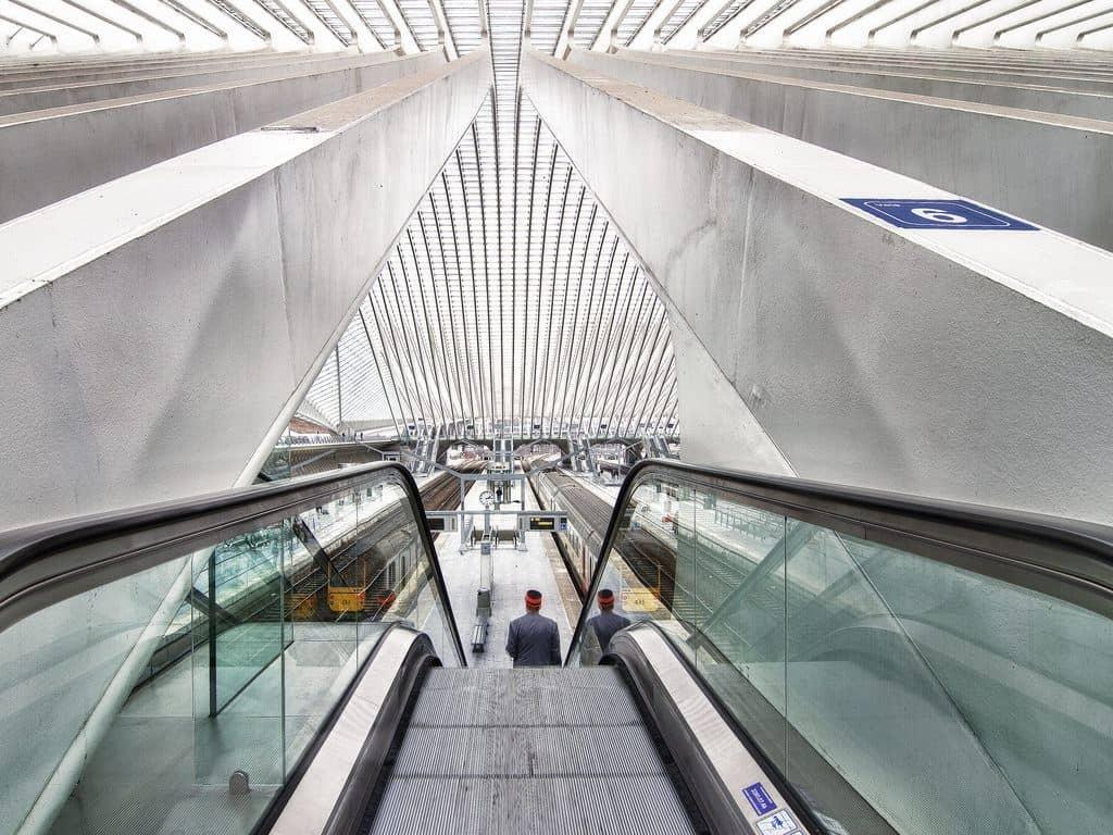 Liège-Guillemins railway station, Liège