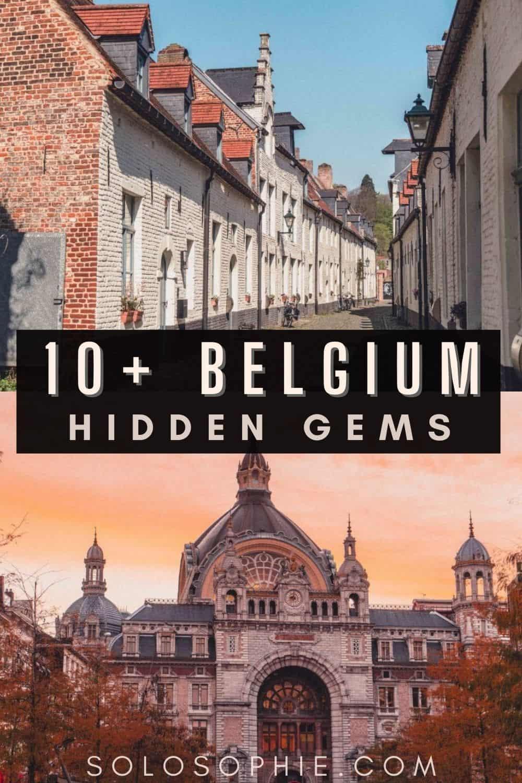 Things to do in Belgium Europe/ 10+ Hidden Gems & Secret Spots in Belgium You Must Visit