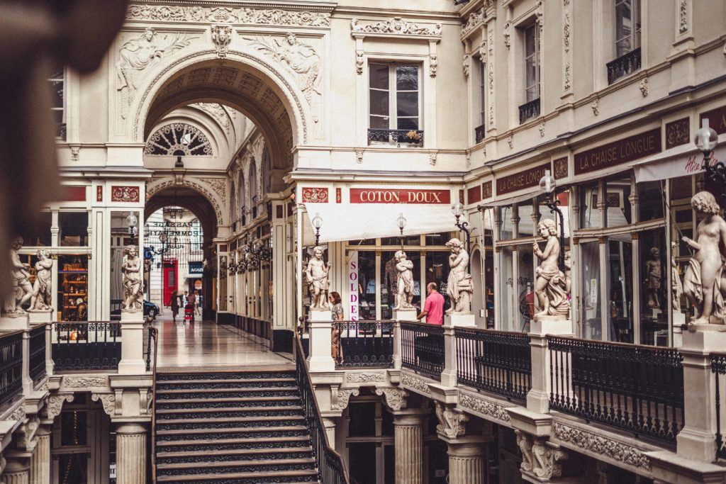 Passage Pommeraye: A Covered Passage in the Heart of Nantes, Western France