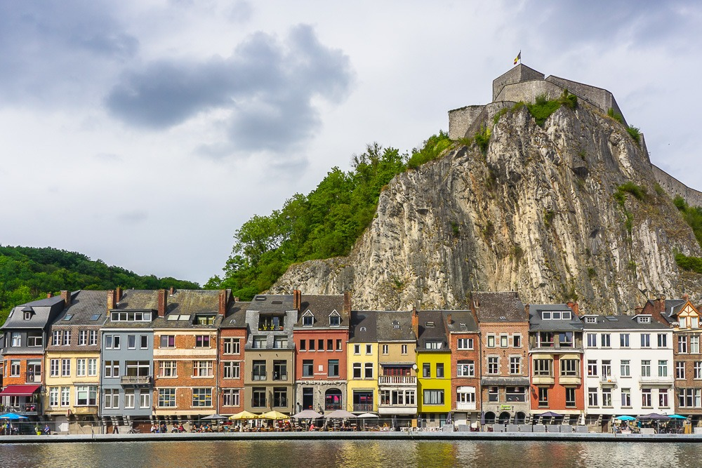 The picturesque town of Dinant