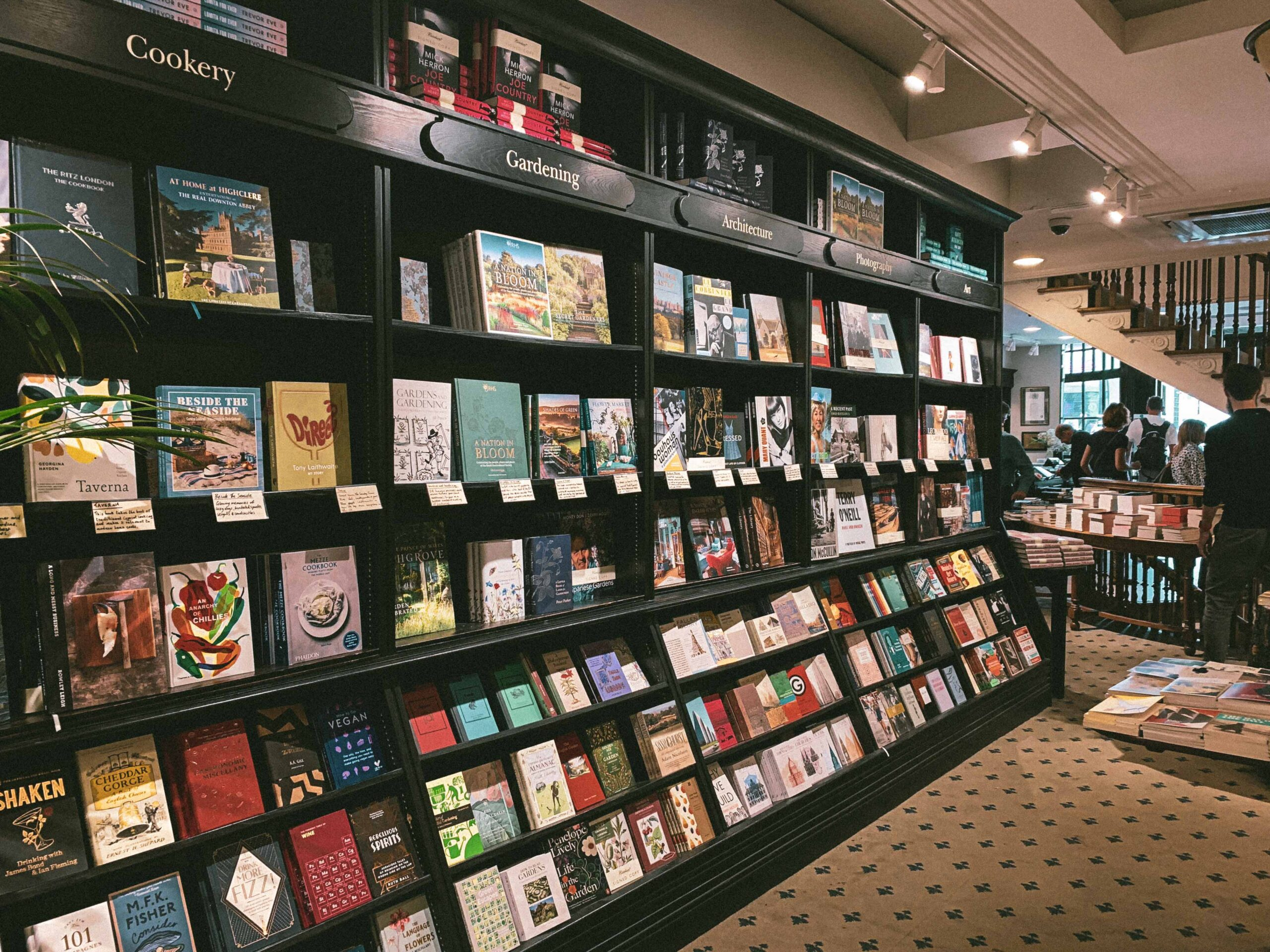 Hatchards: A Peek Inside the Oldest Bookshop in London and a bibliophile dream in the UK capital city of London, England