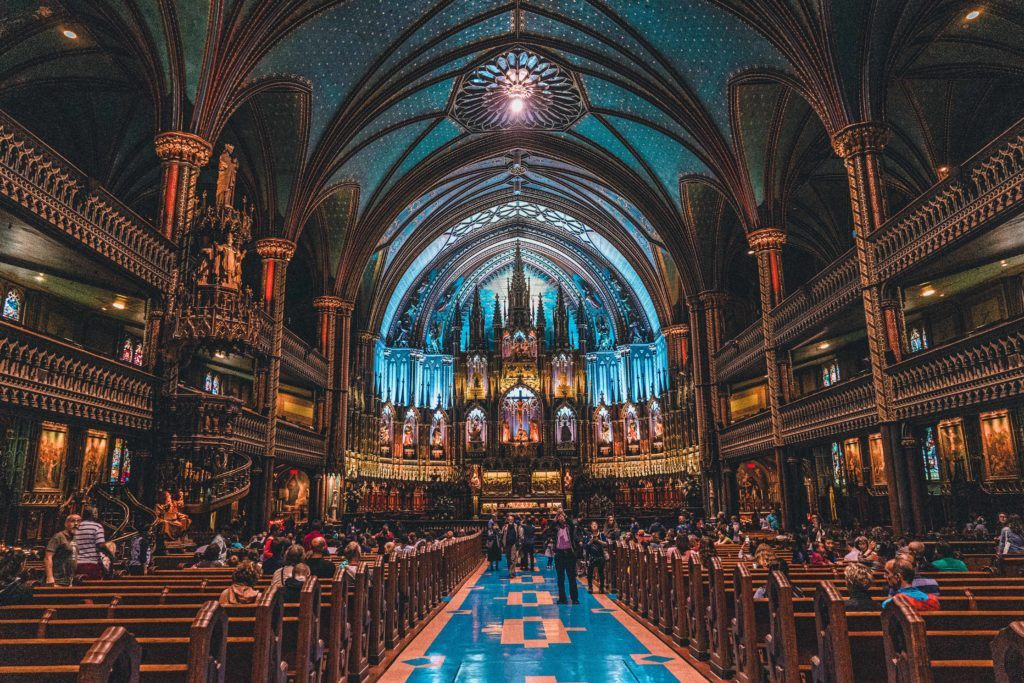 Visit the Basilica Notre-Dame in Montreal, Quebec, Canada