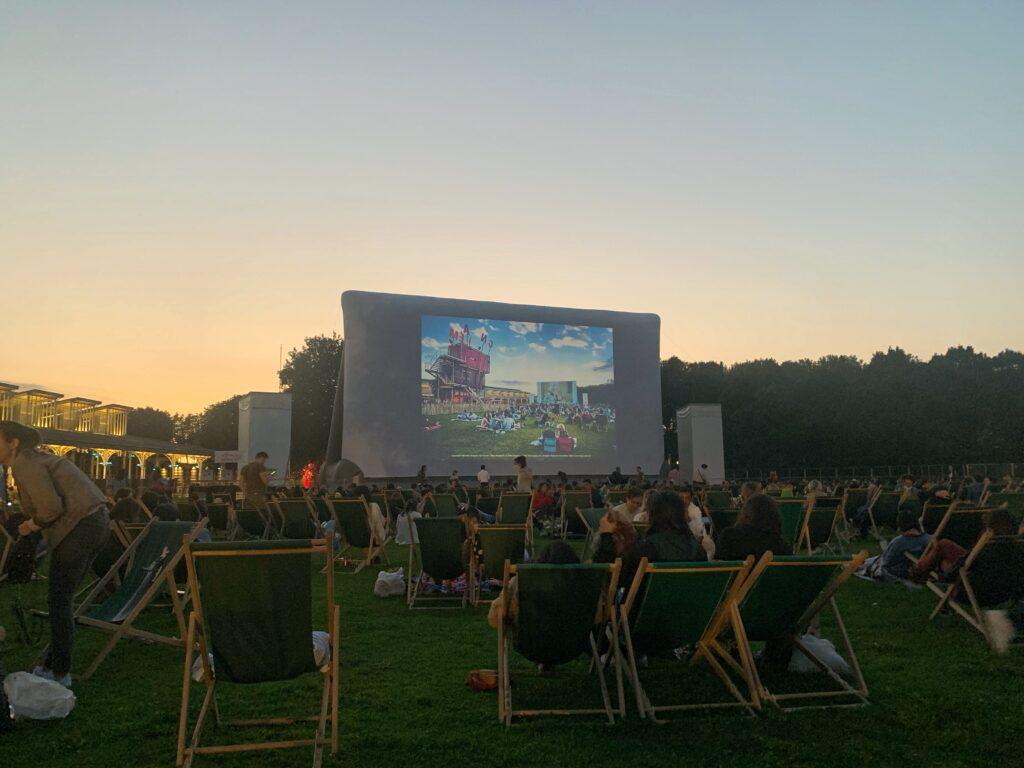 Enjoy free movies at Parc de la Villette