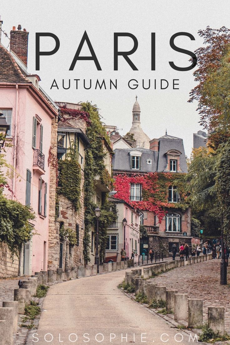 Autumn in Paris: looking for the best places to see fall and beautiful leaves and foliage in Paris? Here's your ultimate guide to the top fall foliage locations in the City of Light, Paris, France