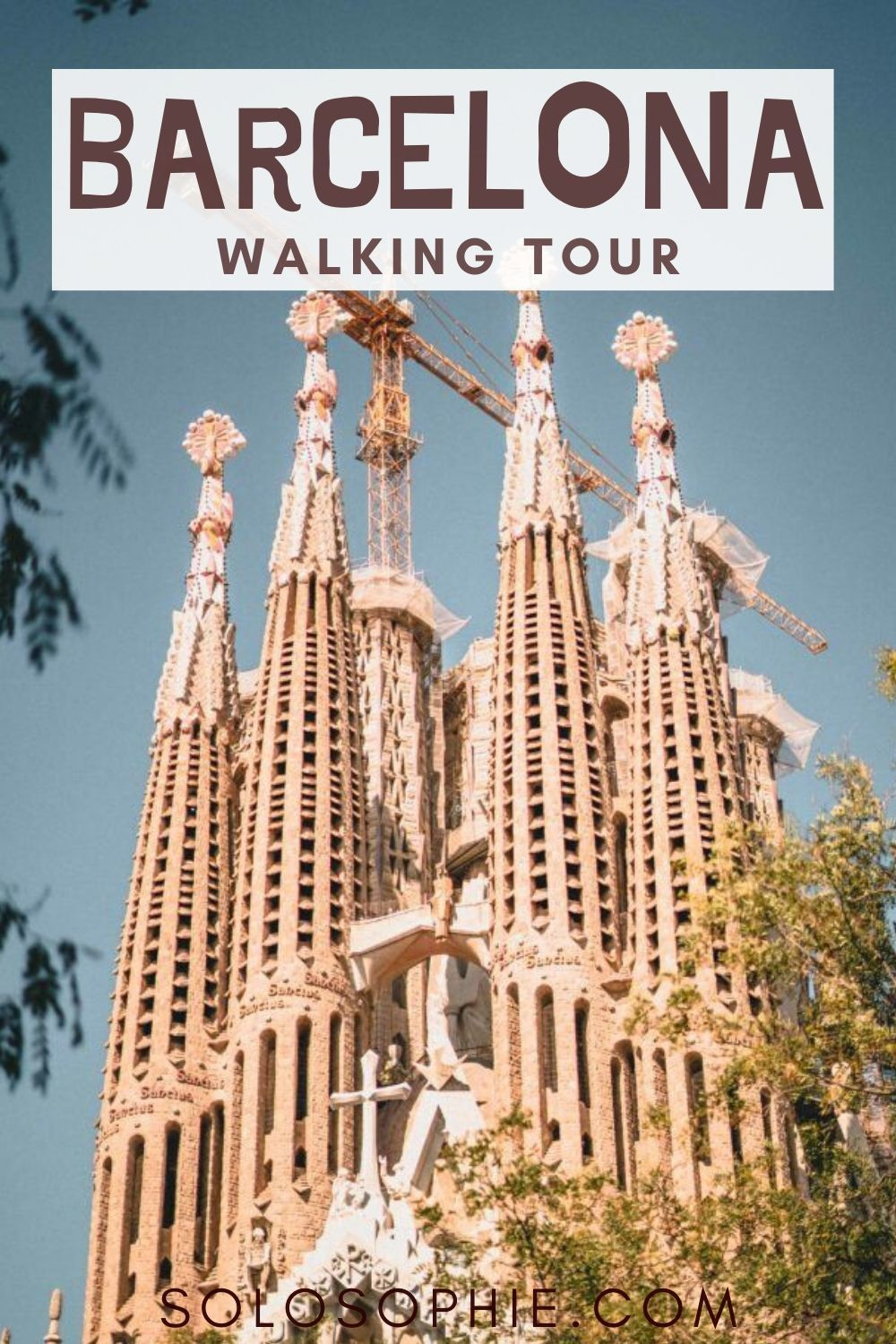 BARCELONA WALKING TOUR: fancy seeing the best of Barcelona? Here's a self guided free walking guide to the top things to do in Barcelona, Spain