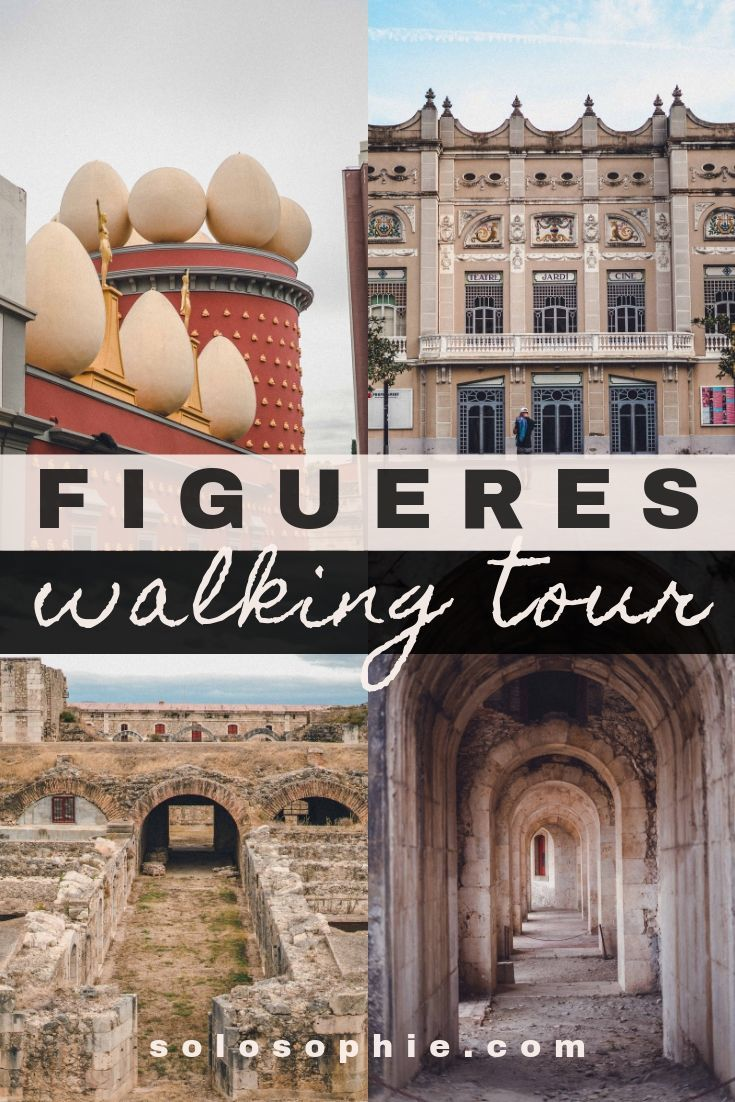 Free and self-guided Figueres walking tour, Catalonia, Spain. Want to learn about the history of Figueres as well as see the top Figueres highlights and things to do? This guided walk will show you the top city Dali attractions!