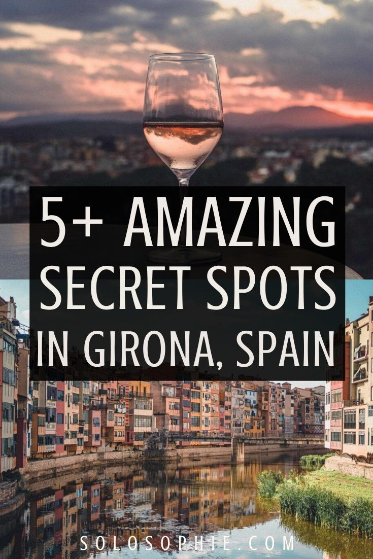 Hidden gems and Secret Spots in the medieval city of Girona, Catalonia Spain. Looking for the best things to do in Girona Spain? Here's your guide to the most unusual and offbeat attractions, including secret destinations and places to visit