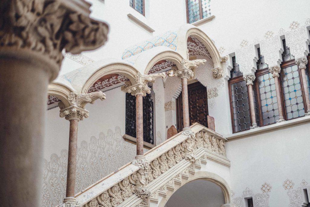 Palau Macaya, Hidden gem of Barcelona, Spain