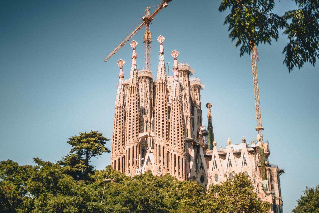 Plaça de la Sagrada Familia, Barcelona, Spain