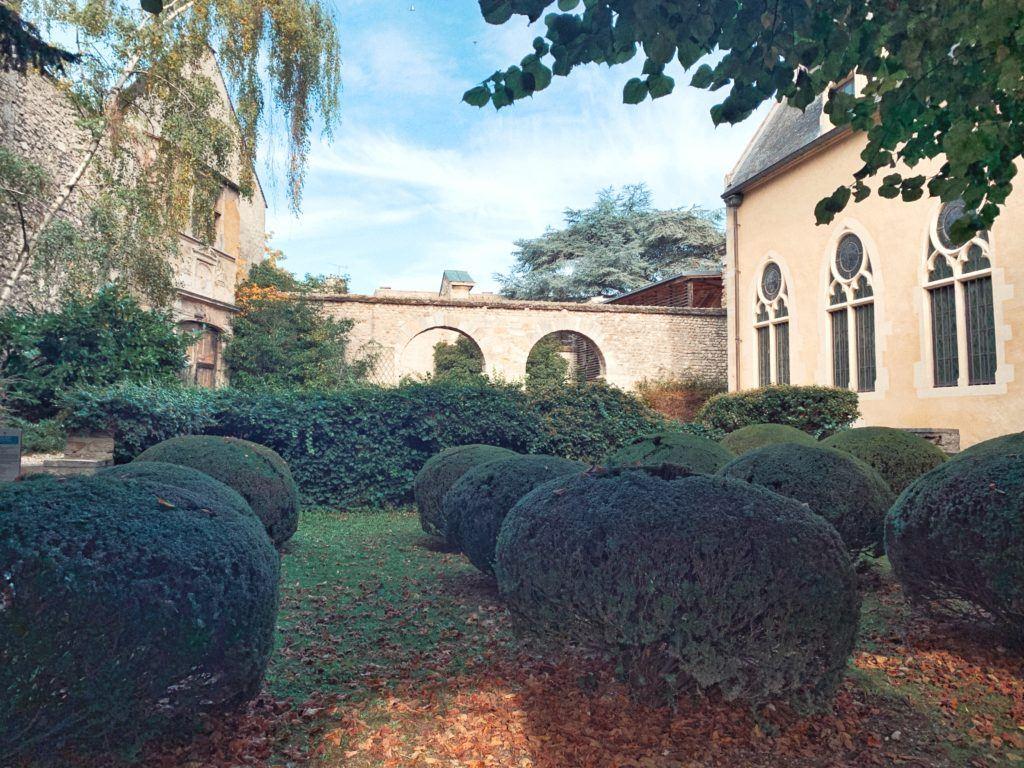 Le Jardin du Museée Le Vergeur, Reims, France