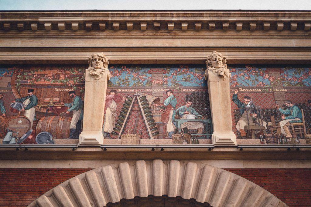 Jacquart Mosaic, Reims, France