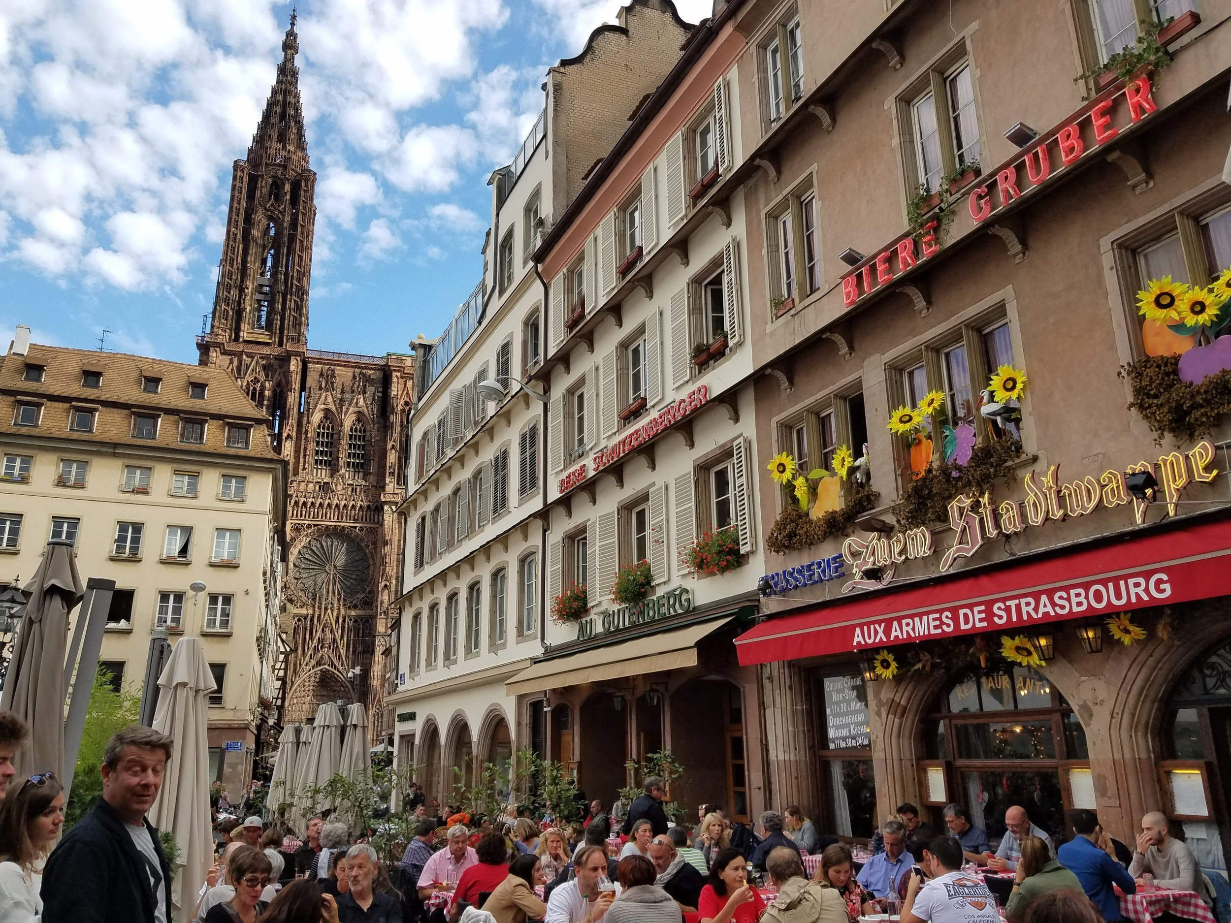 Free and self-guided Strasbourg walking tour, Alsace, Eastern France. Want to learn about the history of Strasbourg as well as see the top Strasbourg highlights and things to do? This guided walk will show you the top city things to do in Alsace, France