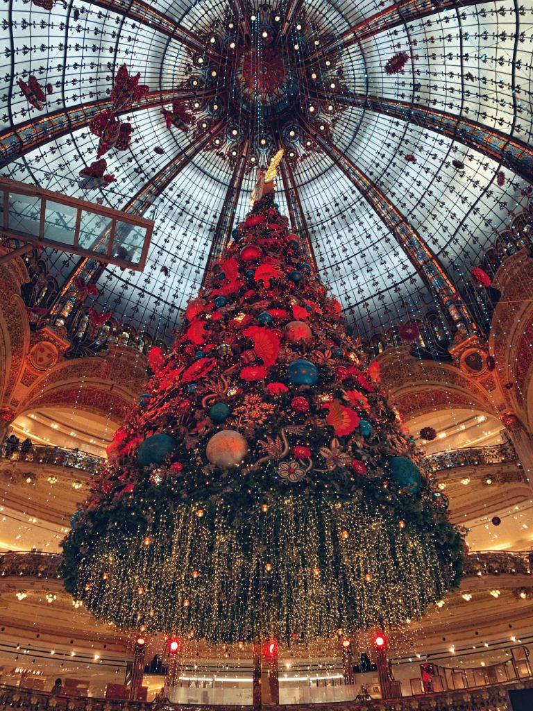 Galeries Lafayette Christmas Tree 2019