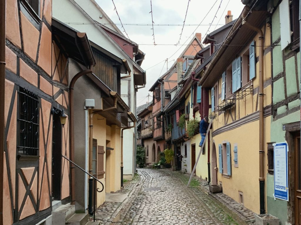 Take a day trip toEguisheim from Colmar, Alsace, France