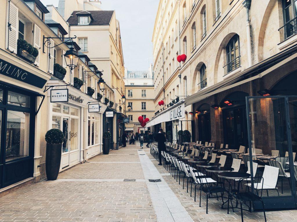 Stroll through Le Village Royal, 8th arrondissement, Paris, France