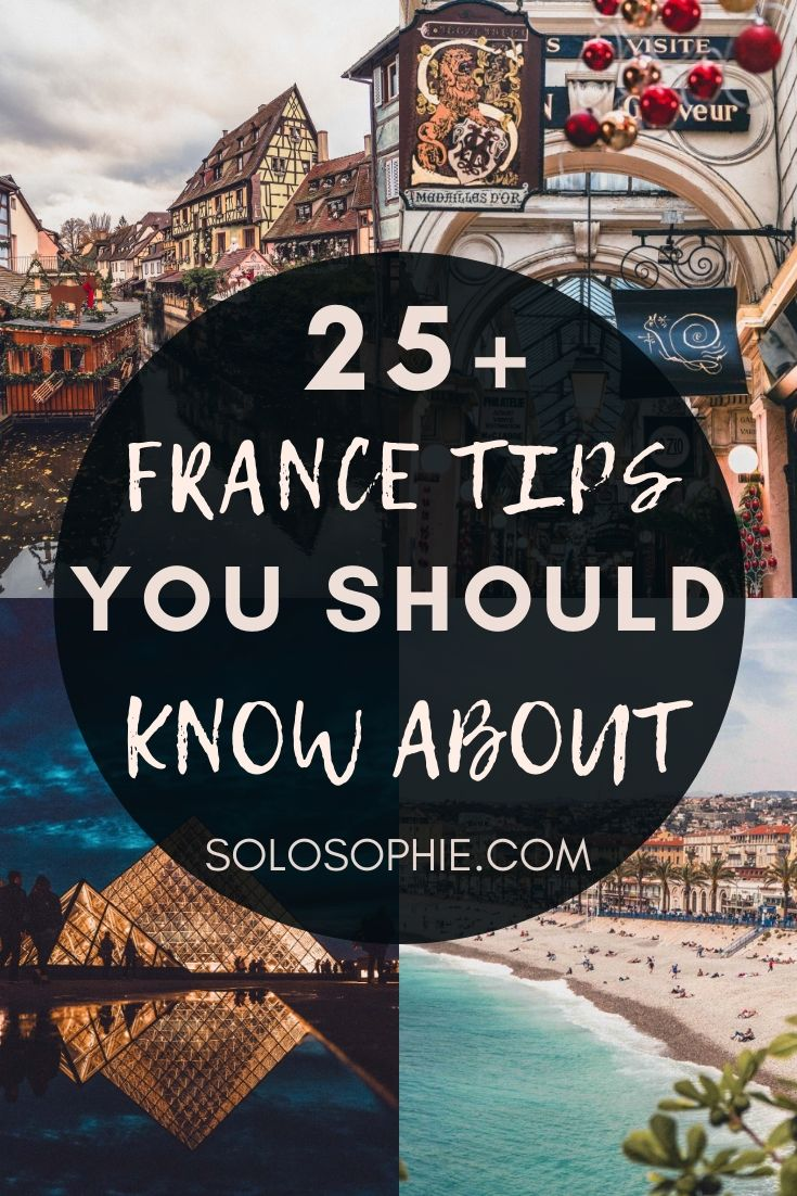 France tips: looking to visit France in Europe for the first time? This is your ultimate guide to things you must know before visiting l'Hexagone, i.e. France