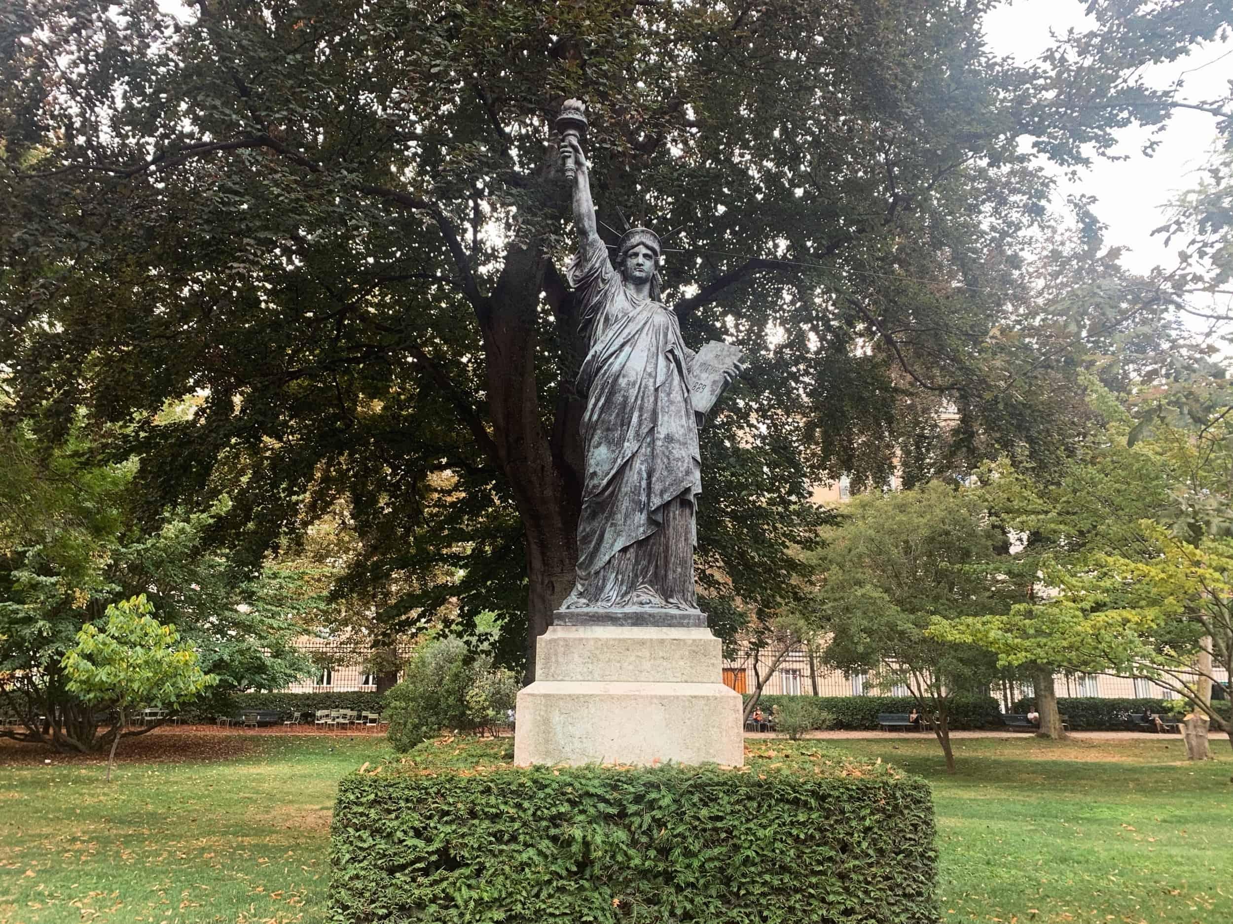 Jardin du Luxembourg Statue of Liberty