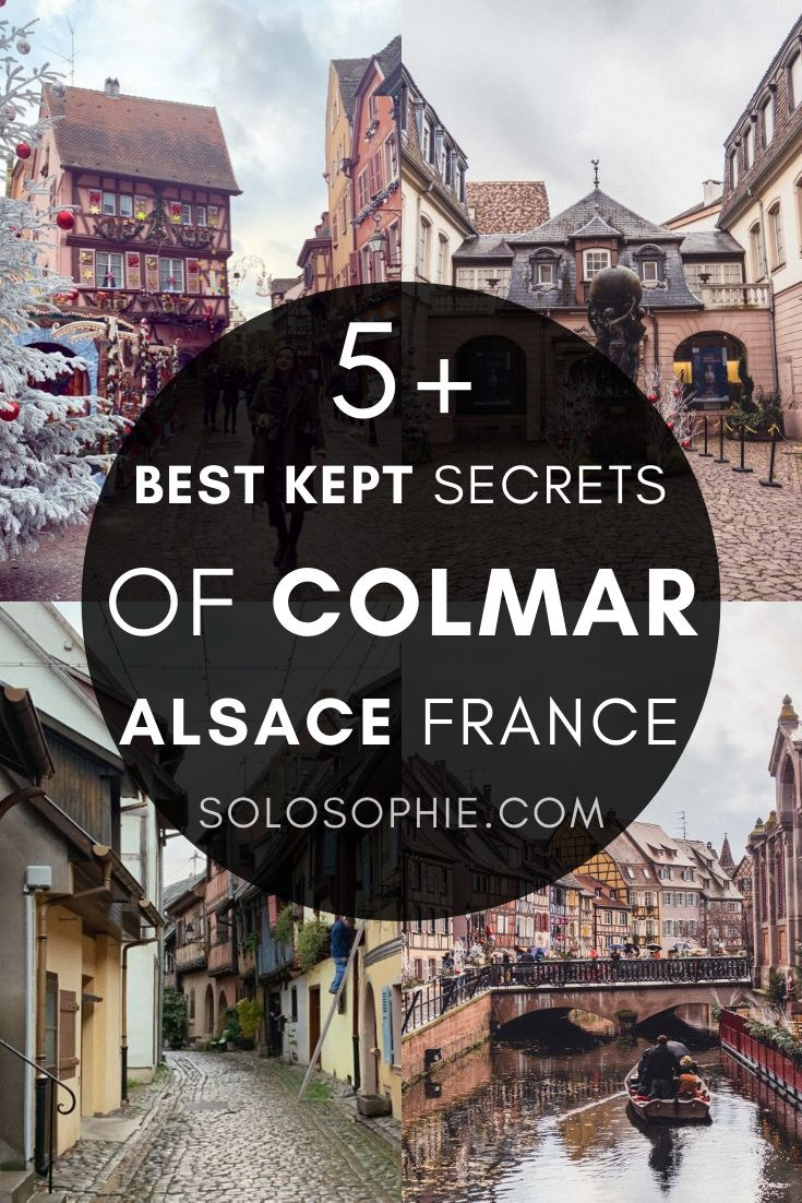 Looking to visit Colmar, the fairytale town of Alsace, France? Here's your guide to the best kept secrets and hidden gems of the beautiful French city of Colmar in Eastern France