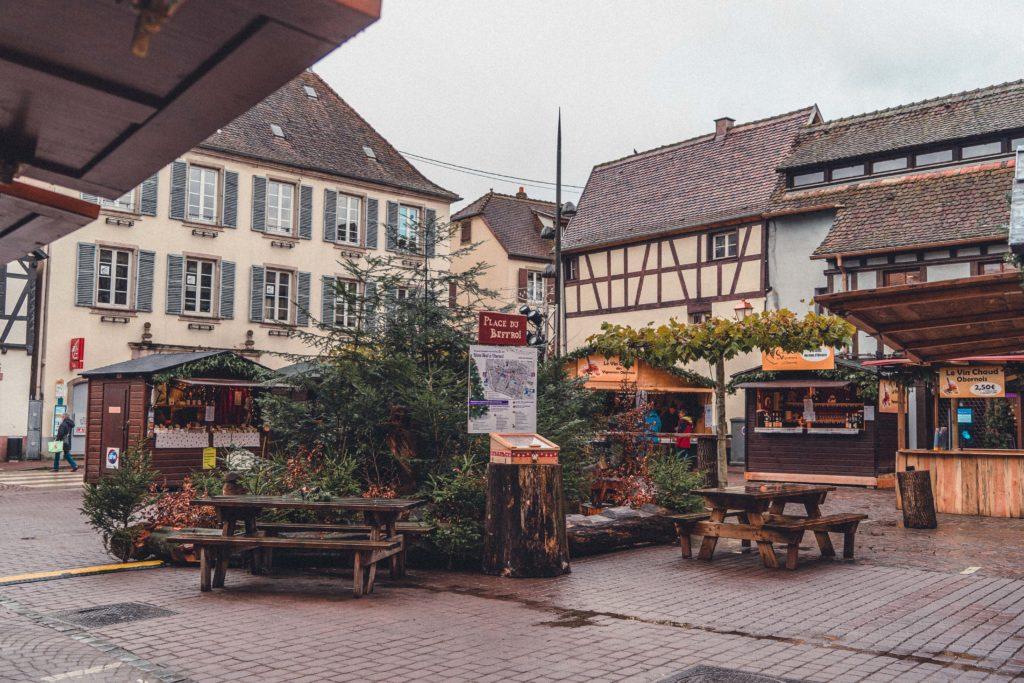 Autour de Beffroi, Obernai Christmas Market, Alsace, France