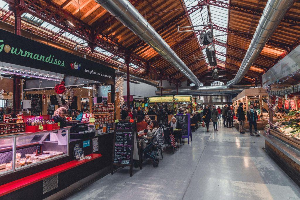 secret spots in colmar: Le Marché Couvert de Colmar (Les Halles)