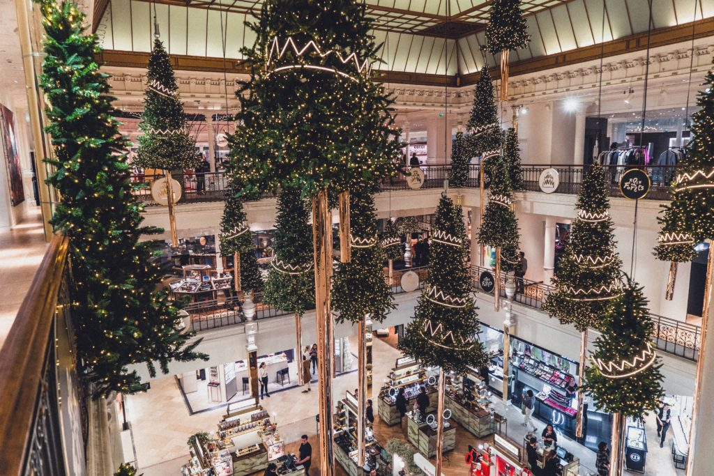 How to See Christmas at Paris Le Bon Marché Rive Gauche in France