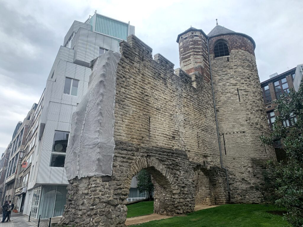 Ancient city wall remnant