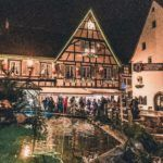 Eguisheim Christmas Market Guide: Everything you should know about Christmas in Eguisheim (timber framed houses and prettiest village in France); festive illuminations and Christmas things to do in Eguisheim, Alsace, East France